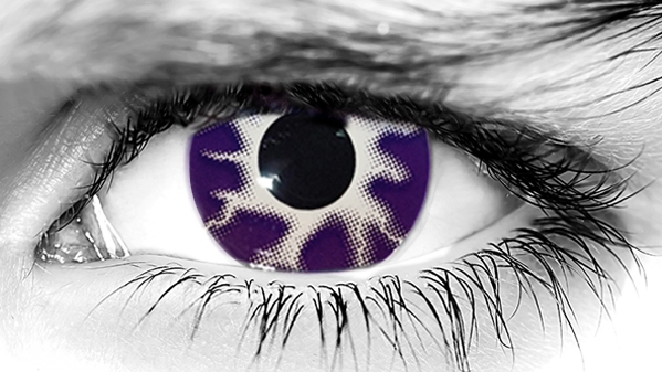 Purple Tempest Halloween Contacts